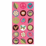 8 sacs de fête Hippie chick