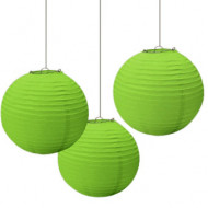 3 Lanternes verte