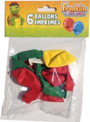 6 ballons imprimés Franklin™