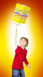 Piñata souple Joyeux Anniversaire