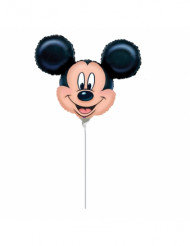 Ballon aluminium petit visage Mickey Mouse™