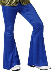 Pantalon homme disco bleu foncé