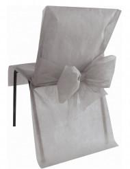 10 Housses de chaise Premium grises