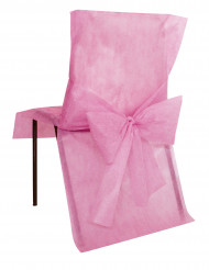 10 Housses de chaise Premium rose