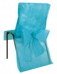 10 Housses de chaise Premium turquoise 50 x 95 cm