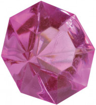 16 Diamants fuchsia