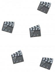 25 Confettis clap de cinéma 2 x 2,2 cm