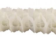 Guirlande papier ivoire 15cm x 4m