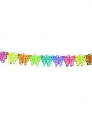 Guirlande papier papillon 4 mètres