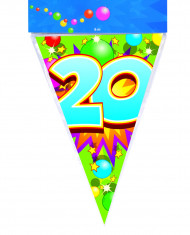 Guirlande fanions 20 ans