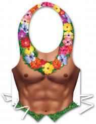 Tablier plastique homme Hawaï