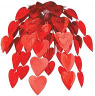 Cascade de coeurs Saint-Valentin