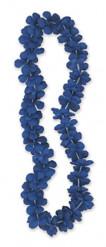 Collier Hawaï bleu 101 cm