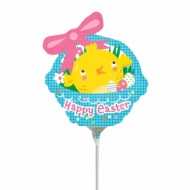 Ballon aluminium Happy Easter 33 cm