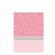 Nappe rose Communion fille