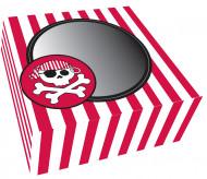 2 boîtes à cupcake carton Pirate Party