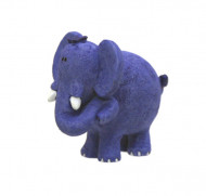 Figurine plastique jungle éléphant 5 cm