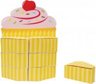 Centre de table + 12 boîtes Cupcake Anniversaire