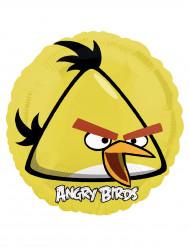 Ballon aluminium jaune Angry Birds™ 45 cm