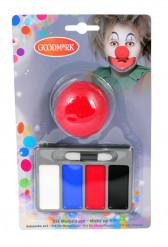 Mini kit maquillage clown