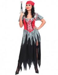 Déguisement de pirate corsaire femme
