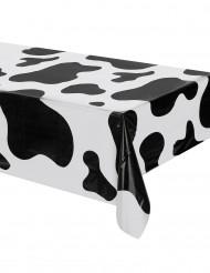 Nappe en plastique vache 127 x 274 cm
