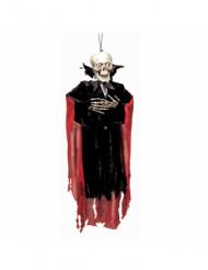 Suspension squelette vampire