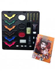 Palette de maquillage et accessoires Halloween