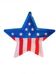 Décoration murale étoile américaine