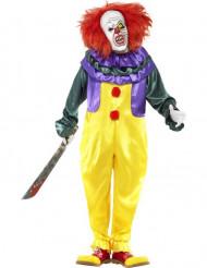 Déguisement clown terrifiant adulte