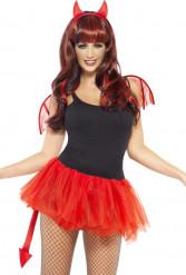 Kit démon femme Halloween