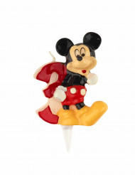 Bougie chiffre 3 Mickey™