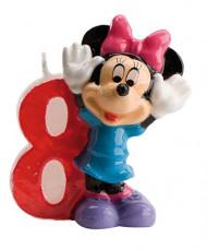 Bougie numéro 8 Minnie™
