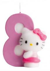 Bougie numéro 8 Hello Kitty™