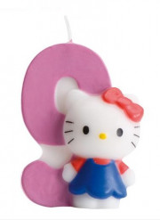 Bougie numéro 9 Hello Kitty™