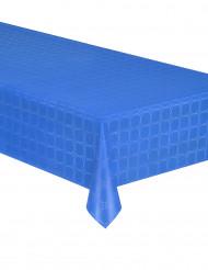 Nappe en rouleau papier damassé bleu lagon