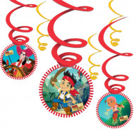 6 Suspensions Jake et les pirates™
