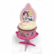 4 Mini-supports pour cupcakes Princesses Disney™