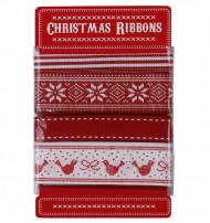 4 Rubans Chalet de Noël