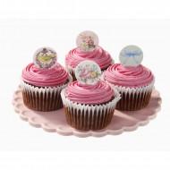 Pics en carton pour cupcakes Thé entre copines