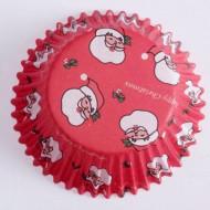 60 Moules à cupcake père noël