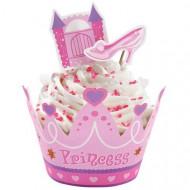 Set tours à cupcake et décoration princesse