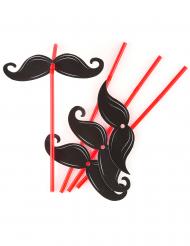 6 Pailles Moustache