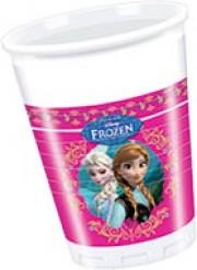 8 Gobelets en plastique La Reine des neiges™