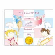 8 Certificats Petits Chefs