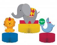 Centre de table animaux de cirque