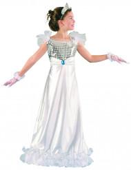 Déguisement princesse blanche fille
