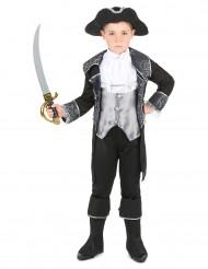 Déguisement pirate gris et noir garçon