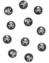150 confettis de table pirate 2.5 cm