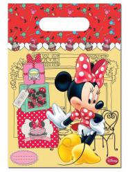 6 Sacs cadeaux Minnie café™ 16.5 x 23 cm